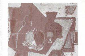 Einladungskarte orbis pictus 54, 1985, Deckblatt